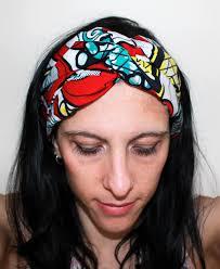Headband Wax Headband Ethnique Accessoire Cheveux Wrap T Te