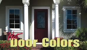 Hot New Door Colors for 2015