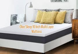memory foam mattress box. Olee Sleep 10 Inch EOS Multi Layer Gel Infused Memory Foam Mattress Review Box