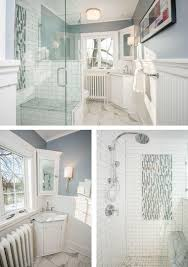 bathroom remodel des moines. Collage Of Finished Craftsman Bathroom Remodel By Silent Rivers Showing White Carrera Marble Des Moines