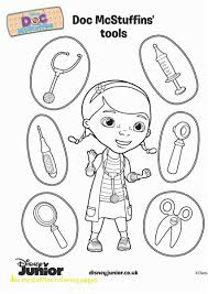 Doc Mcstuffins Coloring Pages With Free Online Disney Junior Giant