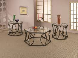 metal glass coffee table style