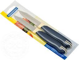<b>Набор ножей</b> Tramontina Multicolor для овощей 7.5см <b>2 предмета</b>