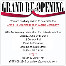 Grand Opening Invitations Grand Opening Invitations For Business Dr71