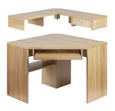 corner office desk hutch. Sherwood Oak Corner Desk With Built In Keyboard Shelf And Separate Hutch Drawer Real Office A