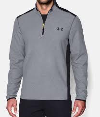 under armour 1 4 zip fleece. steel, zoomed image under armour 1 4 zip fleece n