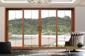 china latest wood wooden frame sliding glass door system design china sliding door sliding doors