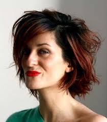 short hairstyles wavy