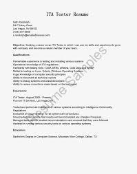Manual Testing Resume Samples