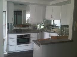 Modern Kitchen Decor decorating modern kitchen decor with mirror backsplash tiles 5154 by uwakikaiketsu.us