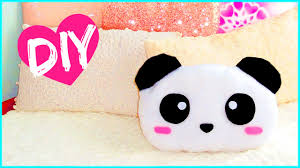 cute diy pillows. diy room decor! cute panda pillow (sew/no sew) | lovely gift idea! - youtube diy pillows t