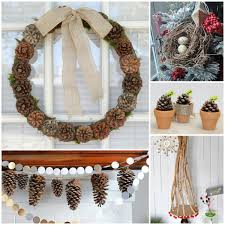 Christmas Decorating Ideas Using Nature : Beautiful christmas decoration  craft ideas on a budget