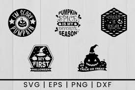 Ai (adobe illustrator) eps (encapsulated postscript). Halloween Pumpkin Vector Silhouette Graphic By Damasyp Creative Fabrica