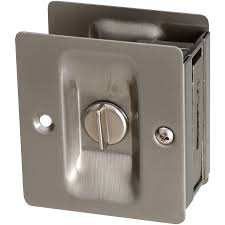 national hardware 2 75 in satin nickel pocket door pull