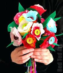 Paper Flower Bouquet Etsy Paper Flower Bouquet Paper Flower Wedding Bouquet Etsy Paper