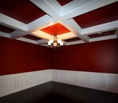 fake coffered ceiling