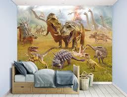 dinosaur wall mural 12 piece dino