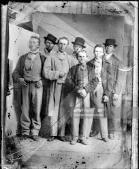 August Krueger with group of sailors, St Joseph, Michigan, 1867. News Photo  - Getty Images