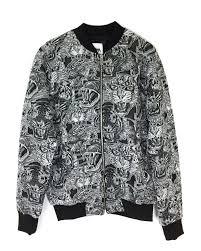 details about zara men tiger jacquard er jacket 4087 411 800