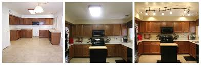 Update Kitchen Fluorescent Light Update Drop Ceiling Kitchen Lighting Suspended Lights