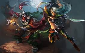 League of Legends 3D #Game #Wallpaper ...