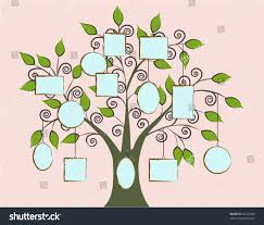 Build Your Family Tree Stock Vector Royalty Free 39325285