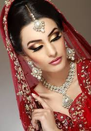 best 25 indian bridal makeup ideas on pinterest indian wedding Indian Wedding Makeup And Hair an example of makeup where the lipstick doesn't match the dress (ignore the eye makeup on this one) indian wedding makeup and hair