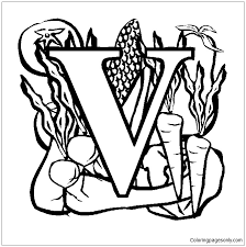 Coloring, alphabet letters coloring, pdf letter v coloring alphabet letters, letter v coloring work, pdf letter r coloring or out on pretty paper and frame crafts. Letter V Coloring Pages Alphabet Coloring Pages Free Printable Coloring Pages Online