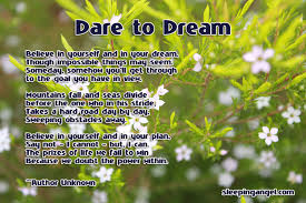 Dare To Dream Quotes Best of Dare To Dream Sleeping Angel