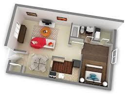 Wonderful One Bedroom Type 2