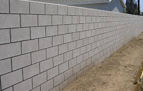 how many concrete blocks are needed for constructing foundations walls and utility buildings