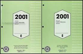 2001 cadillac eldorado wiring diagram original 2001 cadillac eldorado repair shop manual original 2 volume set 264 00