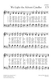 The Light Of The World Is Jesus Lyrics We Light The Advent Candl Hope Publishing Company