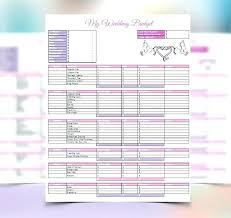 wedding budget template for excel wedding budget template excel south africa checklist and budgets