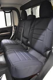 jeep gladiator seat covers rear seats