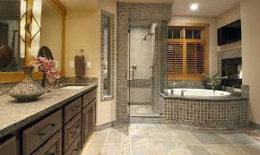 Best Bath Decor bathroom granite tiles : tile-floor-design-Bathroom-Contemporary-with-dark-cabinets-granite ...