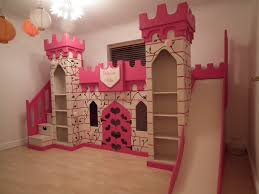 bunk bed with slide for girls. Princess Bed Slide Unique Bunk For Girls With D