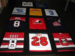 Hockey Jersey Quilt | Tessie's Creations & IMG_0683 Adamdwight.com