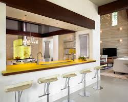 modern kitchen counter. What You Should Know About Onyx Kitchen Countertops : Charming Modern Design With Long Bar Counter C