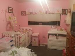 image of jungle jill nursery for girl baby