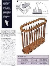 3 Hole Magazine Holder Magazine Rack Plans WoodArchivist 52