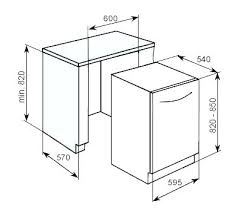 standard dishwasher dimensions. Brilliant Dishwasher Dishwasher Sizes Standard Dimensions Size Dimension Of  A   Inside Standard Dishwasher Dimensions