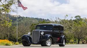 1934 Chevrolet Sedan Street Rod   F6   Monterey 2015