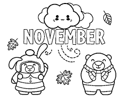 Small Picture Cute november coloring pages ColoringStar