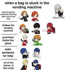 Persona 4 Vending Machine Inspiration Not Really P48 Tumblr