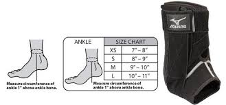 Mizuno Dxs Unisex Ankle Brace Left Or Right Epic Sports