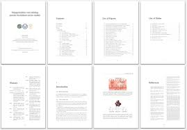 Word Thesis Template Latex Template For Phd Thesis Openwetware