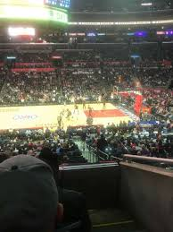 Staples Center Section Pr5 Home Of Los Angeles Kings Los