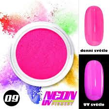 Neon Uv Pigment Neonový Pigment V Prášku 09 A