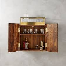 wall bar cabinet